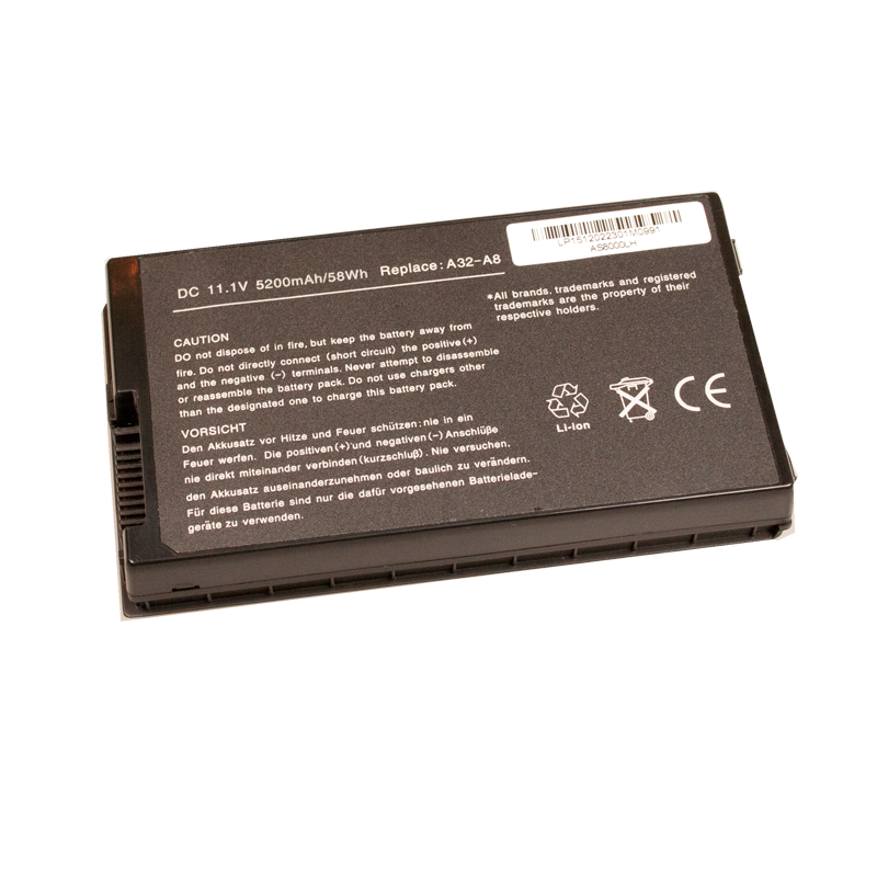 Asus A8Jc Laptop accu 4400mAh